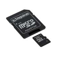 - KINGSTON MicroSD HC Card 4GB +adapter